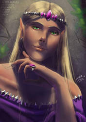 Elf Lord by orchidkitty
