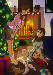 Christmas Eve by orchidkitty