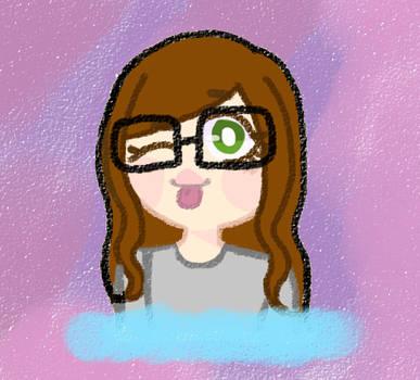 self portrait-ish by torixyz