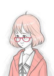Mirai Kuriyama by morbidcookie