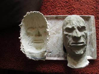 Goblin Mask Sculpture by VeverAk