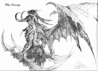 Illidan Stormrage by blackbeamer