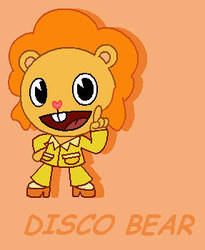 HTF- DISCO BEAR by PPGxRRB-FAN