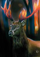 esprit animal by debandsketches