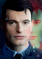 DETROIT Become Human by debandsketches