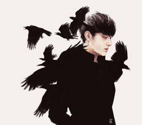 crow boy by genicecream