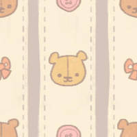 KAWAII DESU BEAR TILE by genicecream