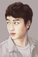 kyungsoo by genicecream