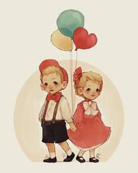 balloons by genicecream