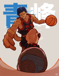 aomine by genicecream
