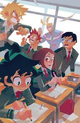 class start!!! by genicecream