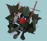 the good wolf by genicecream