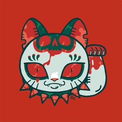 unlucky cat by genicecream
