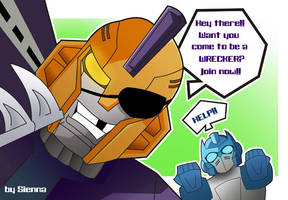 Wreckers by draculinaxy