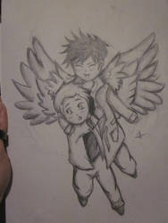 Dean and Cas by pinkysstar