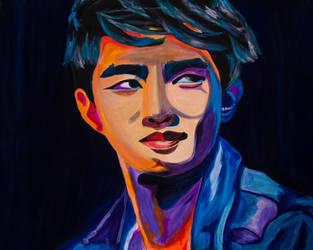 Kyungsoo by pinkysstar
