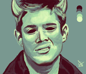 Demon!Dean by pinkysstar