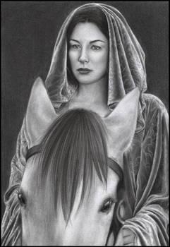 Liv Tyler as Arwen by D17rulez