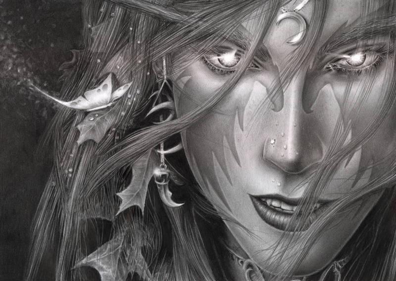 World Of Warcraft - Night Elf by D17rulez