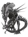 The Alien Queen by D17rulez