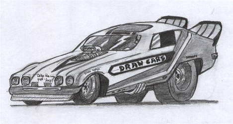 Funny Car by D17rulez