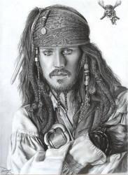 Capt. Jack Sparrow by D17rulez