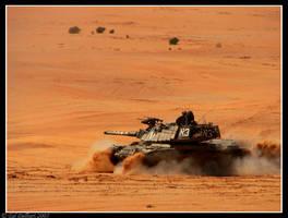 Tank traning 2 by delbarital