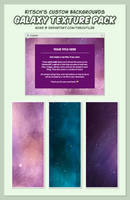 Kitsch's Custom Backgrounds - Galaxy Pack. by TheOutli3R