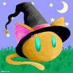 Halloween Kitty by Mineeva