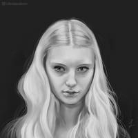 Portrait Study 01 (Dec 2017) by Lillendandie