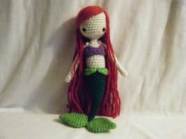 Ariel Crocheted Doll by yourstarrysky