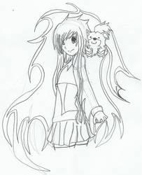 Avia and Growlith by 6-Kira-666