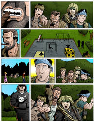 Team Stryker Mission 002 Page 01 Colored by AndrewTeamStryker
