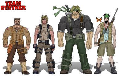 Team Stryker Profiles by AndrewTeamStryker