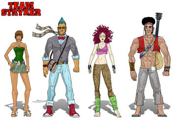 Hip Squad Turnaround by AndrewTeamStryker