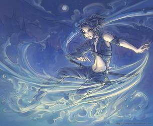 water magic plus swords 8D by Crimple