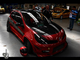 . . Clio Time Attack . by j4y-0n3