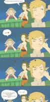 Skyward Sword Peatrice Comic by batwa