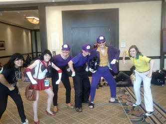 Waluigi Gets All-a Da Bitches! by Rather-Cheesy