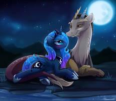 Date Night _ lunacord by MagnaLuna