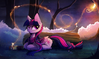 Magic Forest by MagnaLuna