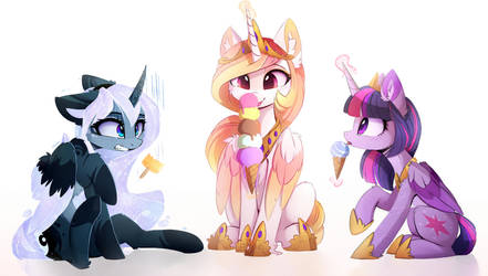 Ice cream~ by MagnaLuna
