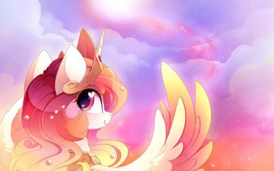 Lovely Sun Horse by MagnaLuna