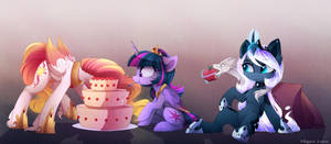 Royal cake by MagnaLuna