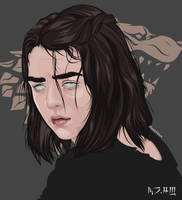 arya stark by mb24black
