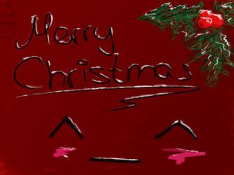 Merry Christmas :3 by SomeSkullio