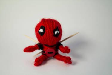 Deadpool voodoo doll by SomeSkullio
