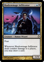MTG : Shadowmage Infiltrator by Hyperespace