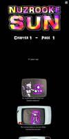 NuzRooke Sun - Ch.1 - Page 1 by DragonwolfRooke