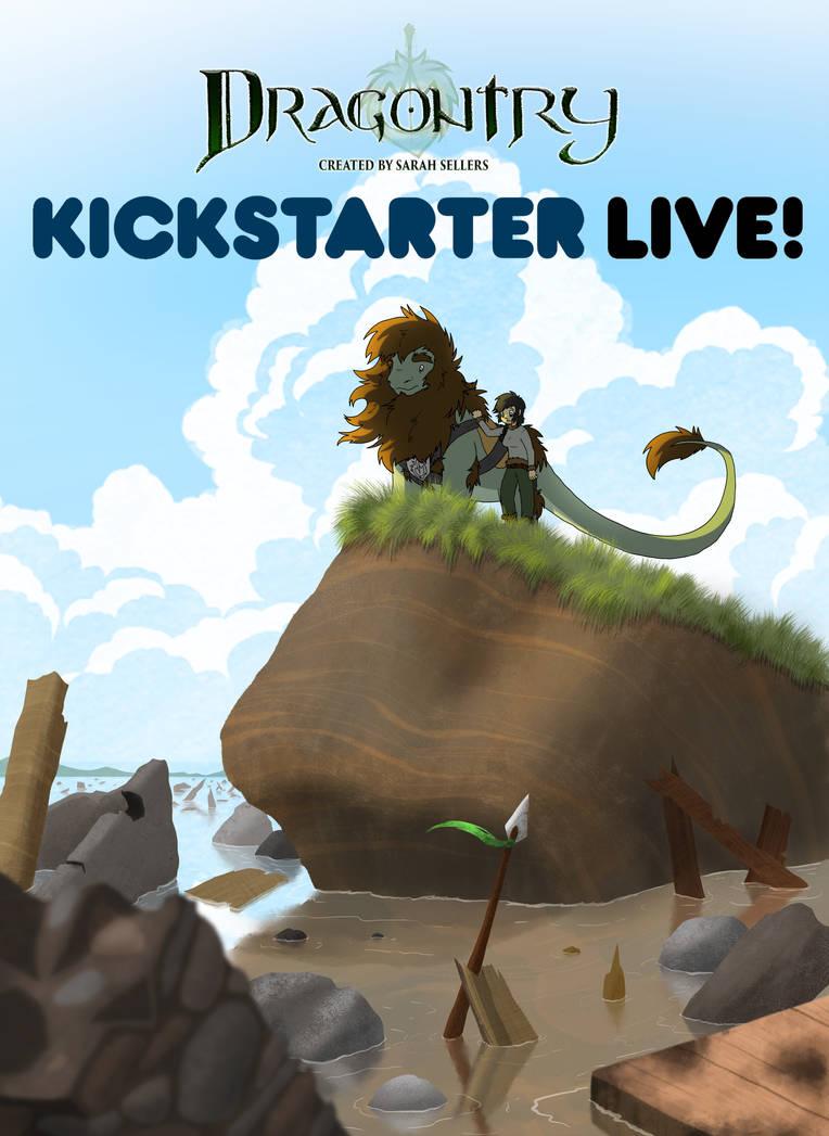 Dragontry Issue 1 Kickstarter! by DragonwolfRooke